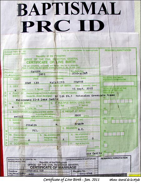 Fake certificates manila certificate live birth in a manila street stall yadclub Gallery