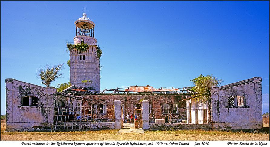 Cabra Island Lighthouses - Occidental Mindoro